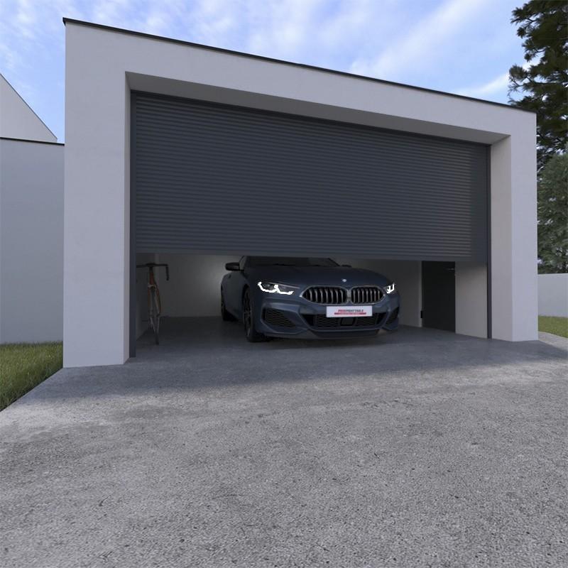 Une porte de garage motorisée résistante et efficace